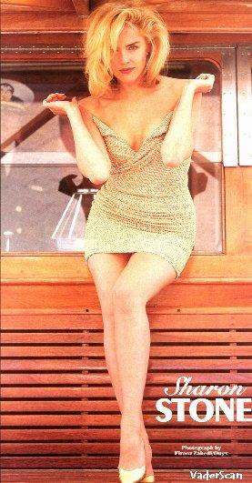 девушки в ботфорты фото шерон стоун